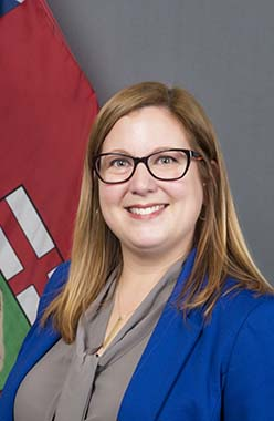 sarah guillemard minister of conservation and climate